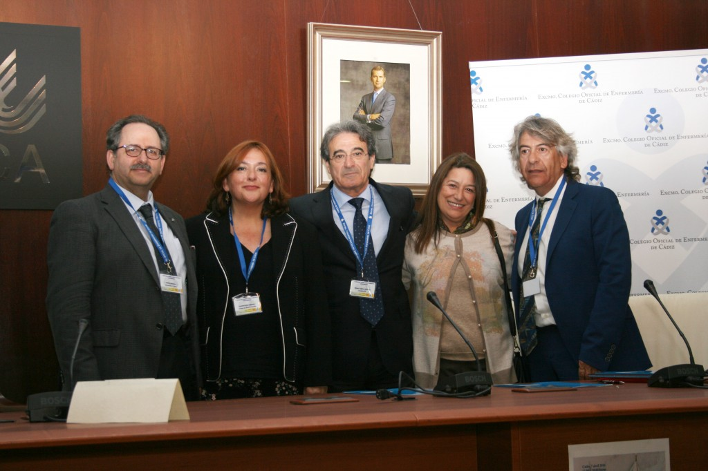 El Colegio Oficial de Enfermería de Cádiz firma un convenio con la Fundación Index para impulsar la investigación entre sus colegiados